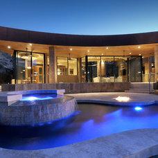 Contemporary Pool by Process Design Build, L.L.C.