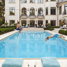 Traditional Pool by Martha O'Hara Interiors