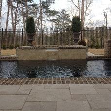 Traditional Pool by Paradise Pool & Spa, Inc