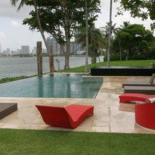 Pools - Miami Interior Design  - Top Interior Designers - Contemporary
