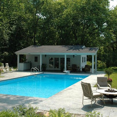 Contemporary Pool by Architectural Landscape Design, Inc.