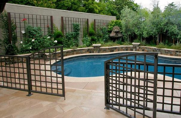 Traditional Pool by Michael Glassman & Associates