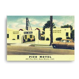 Mid Century Motel Art