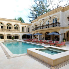 Traditional Pool by Keystone Cabinetry Inc.   Since 1984