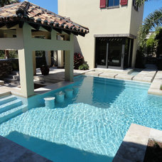 Transitional Pool by Mills Design Group, Inc