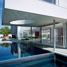 Modern Pool by Michelle Williams Photography