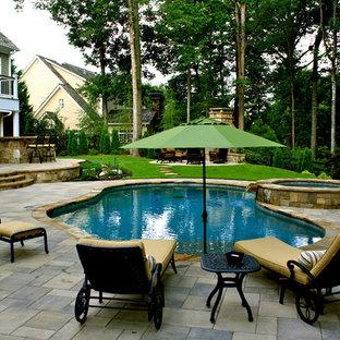 Milton Free-Formed Swimming Pool
