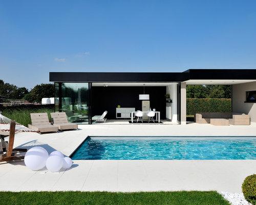pool ideen design bilder houzz. Black Bedroom Furniture Sets. Home Design Ideas