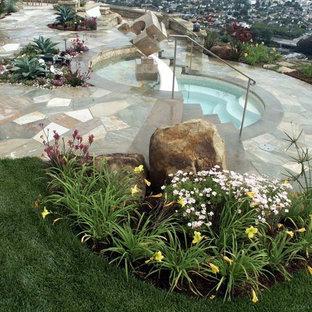 Pool - eclectic pool idea in Santa Barbara