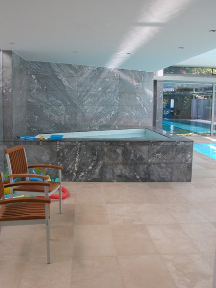 Contemporary Pool by Sybil Jane Barrido, ASID, CID - SJVD DESIGN