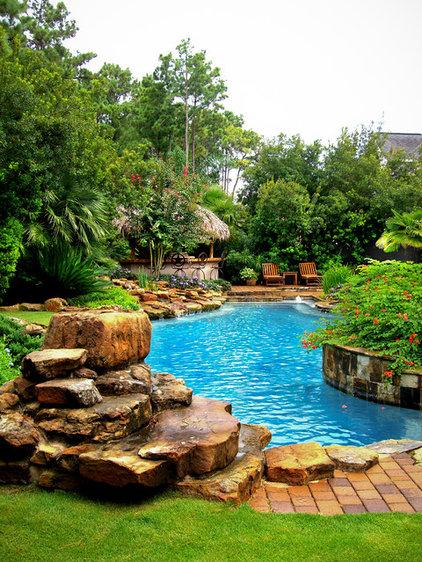 Tropical Pool by Mirror Lake