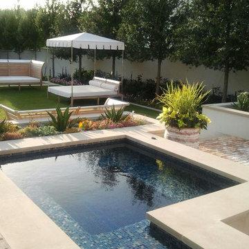 Modern Backyard Retreat