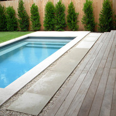 Modern Pool by Robert Leeper Landscapes