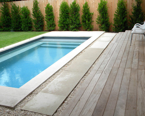 Modern pool design ideas remodels photos for Concrete block swimming pool plans