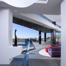 Contemporary Pool by Urban Design Associates