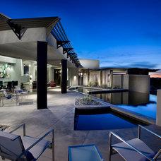 Contemporary Patio by Urban Design Associates