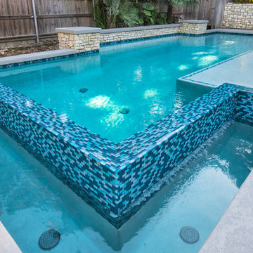 Modern Design with Glass Tile