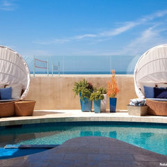 modern pool by Natalie Younger Interior Design, Allied ASID