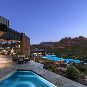 Modern Hill Top Home