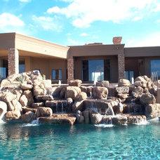 Eclectic Pool by Fratantoni Luxury Estates