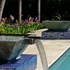 Modern Pool by Blue Haven Pools of S.E. Florida