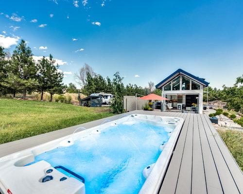 Fotos de piscinas dise os de piscinas modernas peque as for Piscina rectangular pequena