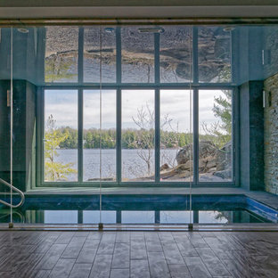Inspiration for an expansive modern pool in Toronto.