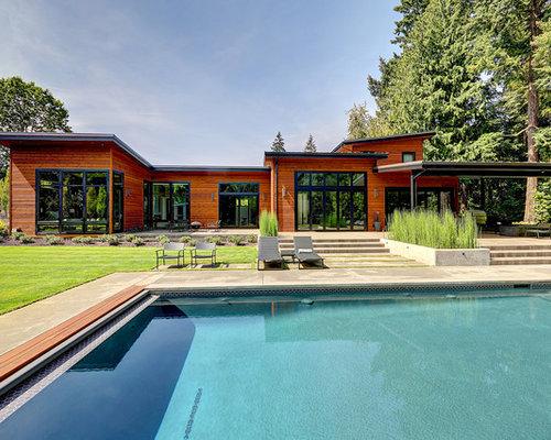 Contemporary home design photos decor ideas in portland for Contemporary homes portland