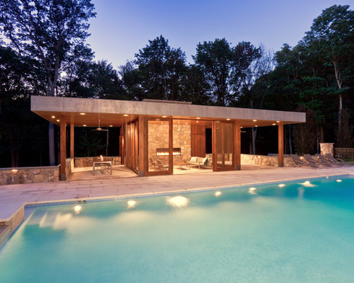 Pool House Design hybrid modernist villa house design Saveemail