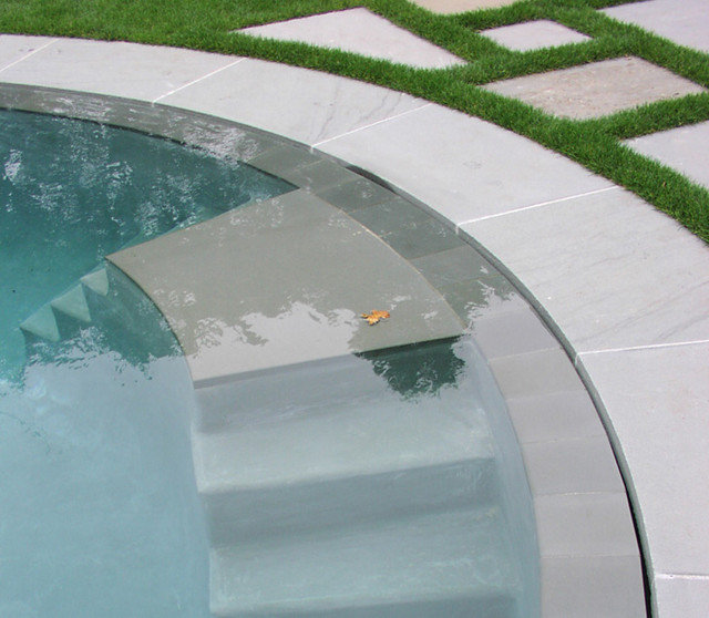 Take the plunge small pools for intimate spaces - Invisible edge pool ...
