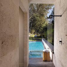 Modern Pool by Bevan Associates