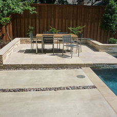 Modern Pool by AquaTerra Outdoors