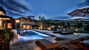 Modern - Rustic Foothills Pool and Spa fully automatic
