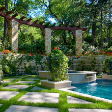 Pool by Harold Leidner Landscape Architects
