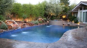 Modesto Jazzy Waterfeature Spa