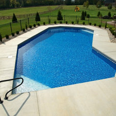 Traditional Pool by Suntime Pools West