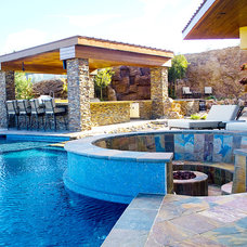 Eclectic Pool by SCA Design