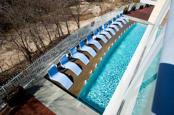 Modern Pool by Kailey J. Flynn Photography