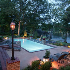 Traditional Pool by Dolphin Pools