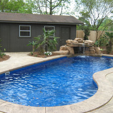 Tropical Pool by Dolphin Pools
