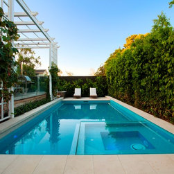 Melbourne Traditional Tile Swimming Pool Design Ideas Pictures Remodel And Decor