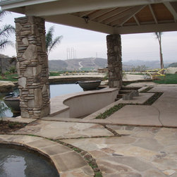 Los Angeles Beach Style Swimming Pool Design Ideas Pictures Remodel And Decor