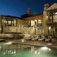 Modern Pool by Slifer Designs