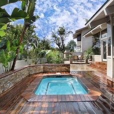 Tropical Pool by Jeff Pittman Homes