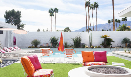 Before and After: Moroccan-Inspired Palm Springs Style
