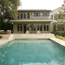 Traditional Pool by MTLA- Mark Tessier Landscape Architecture
