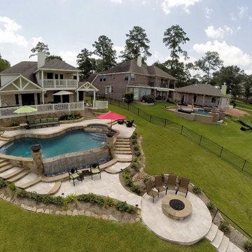 Multi Level Backyard