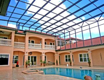 Multi-Story Pool Enclosure