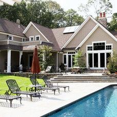 Traditional Pool by Emil Kreye & Son Inc.