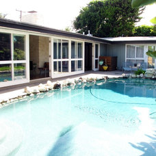 Midcentury Pool by Tara Bussema - Neat Organization and Design